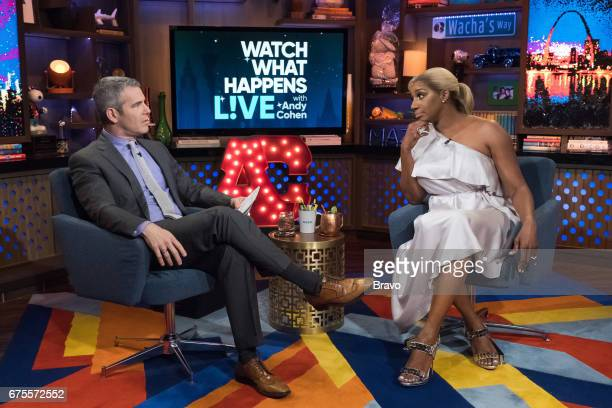 Pictured : Andy Cohen and NeNe Leakes --