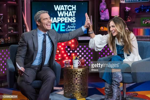 Andy Cohen and Sarah Jessica Parker
