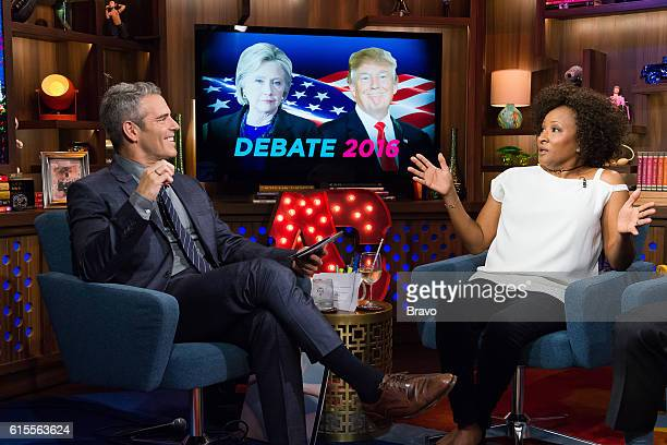 Andy Cohen and Wanda Sykes