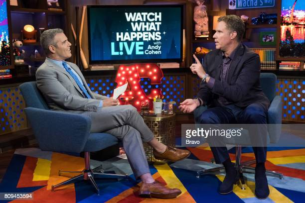 Andy Cohen and Will Ferrell
