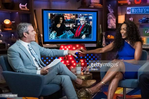 Pictured : Andy Cohen, Angela Bassett --