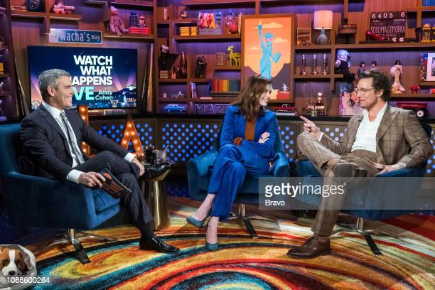 Andy Cohen Anne Hathaway and Matthew McConaughey