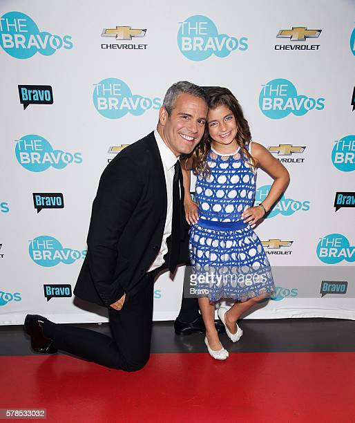 Pictured: Andy Cohen, Audriana Giudice --