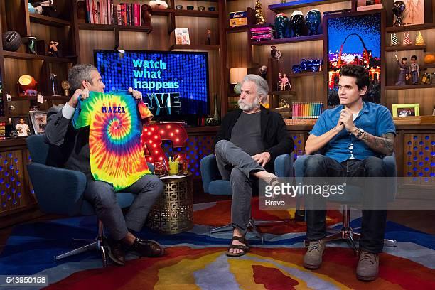 Andy Cohen Bob Weir and John Mayer