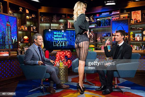 Andy Cohen Brandi Glanville and Jeff Lewis