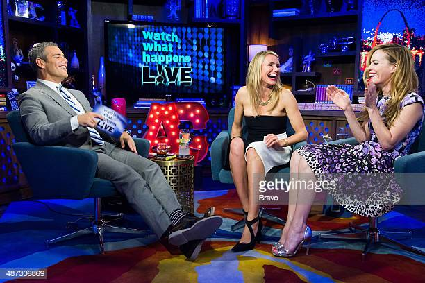 Andy Cohen Cameron Diaz and Leslie Mann