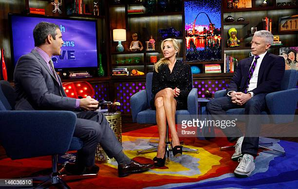 Andy Cohen Camille Grammer Anderson Cooper