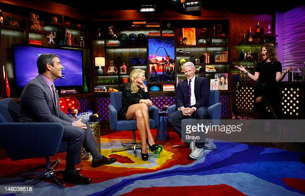 Andy Cohen Camille Grammer Anderson Cooper Sandra Benhard