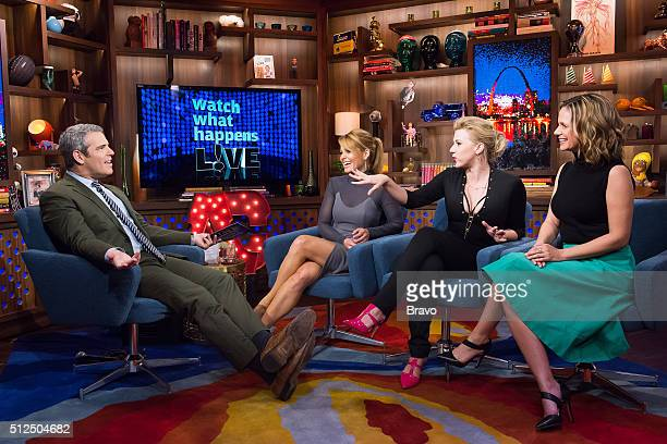 Andy Cohen Candace CameronBure Jodie Sweetin and Andrea Barber