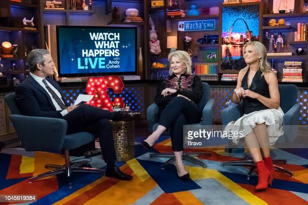 Pictured : Andy Cohen, Candice Bergen and Faith Ford --