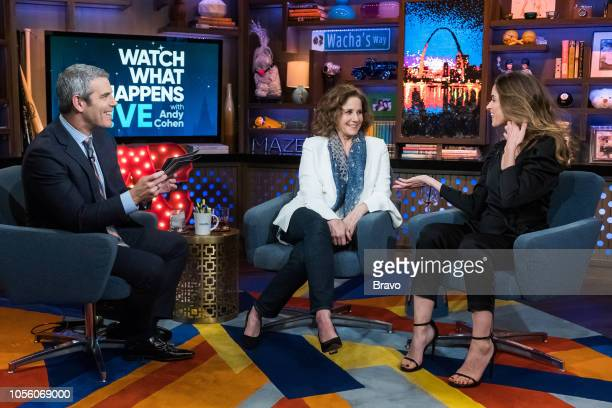 Andy Cohen Debra Winger and Amanda Peet