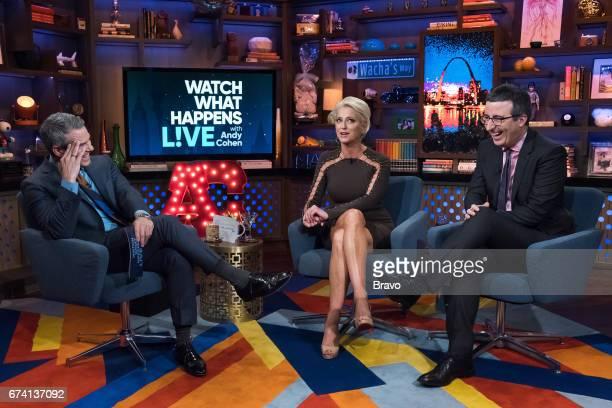 Andy Cohen Dorinda Medley and John Oliver