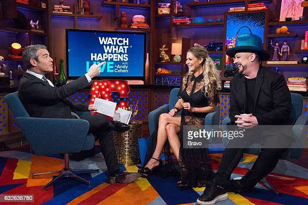 Andy Cohen Dorit Kemsley and Boy George