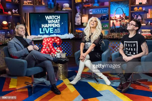 Andy Cohen Erika Jayne and Christian Siriano