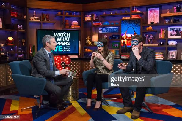 Andy Cohen Gail Simmons and Dale Earnhardt Jr