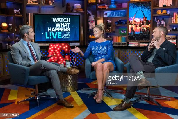 Andy Cohen Hannah Ferrier and Adam Glick
