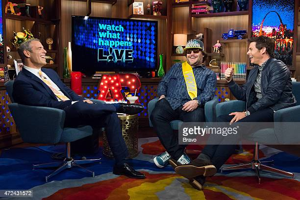 Andy Cohen Jack Black and James Marsden