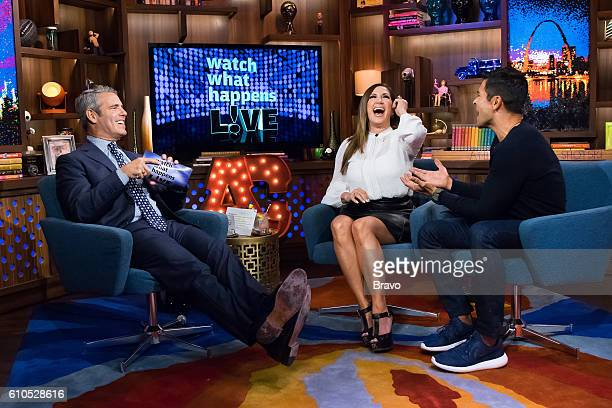 Andy Cohen Jacqueline Laurita and Mark Consuelos