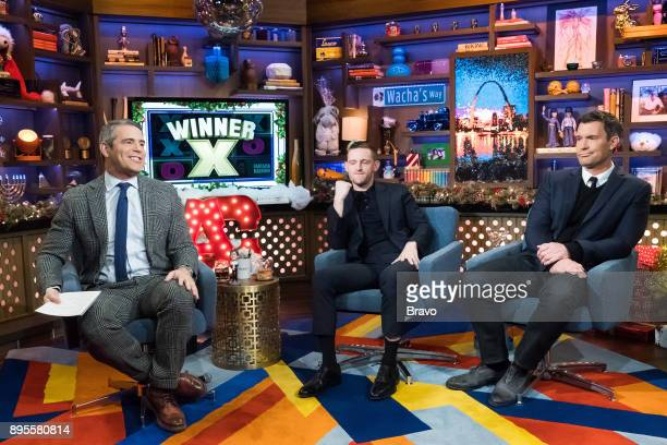 Andy Cohen Jamie Bell and Jeff Lewis