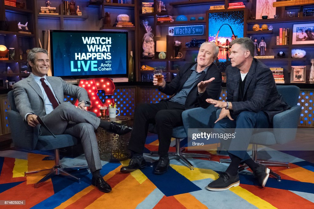 Andy Cohen, John Lithgow and Will Ferrell --