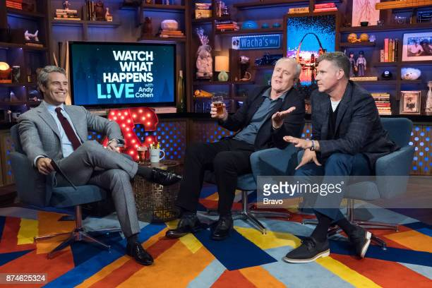 Andy Cohen John Lithgow and Will Ferrell