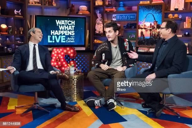 Andy Cohen John Mayer and Bob Saget