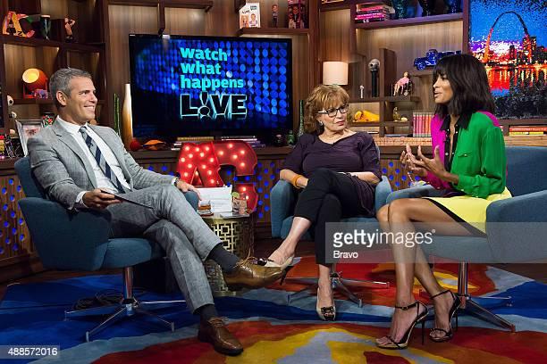 Andy Cohen Joy Behar and Ciara