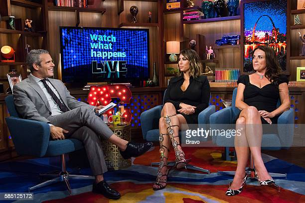 Andy Cohen Kelly Dodd and Jenni Pulos