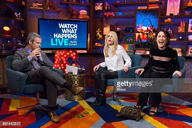 Andy Cohen Kim Richards and Lisa Edelstein
