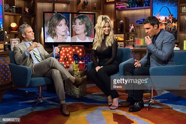 Andy Cohen Kim Zolciak and Jeff Lewis