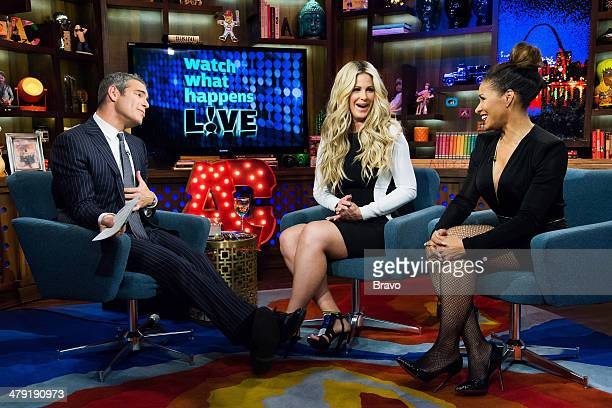 Andy Cohen Kim Zolciak Biermann and Sheree Whitfield Photo by Charles Sykes/Bravo/NBCU Photo Bank via Getty Images