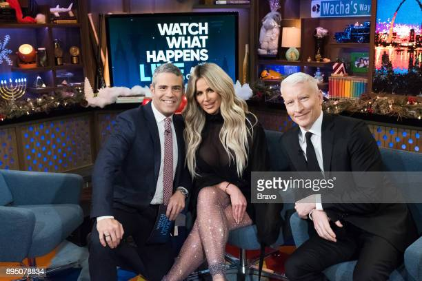 Andy Cohen Kim ZolciakBiermann and Anderson Cooper