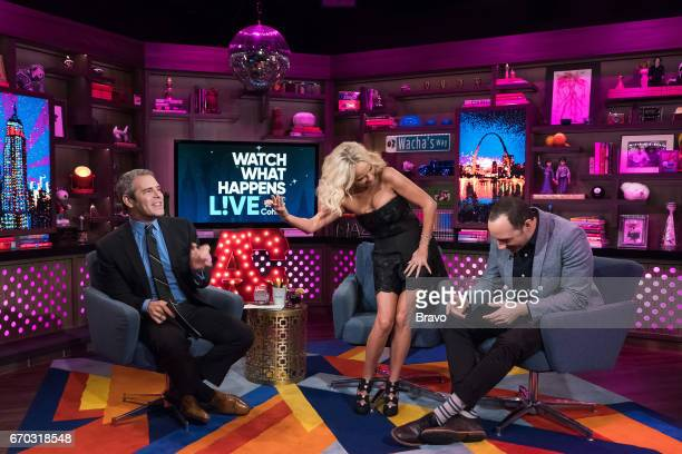 Andy Cohen Kristin Chenoweth and Tony Hale