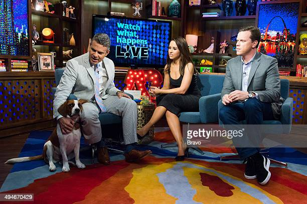 Andy Cohen Lacey Chabert and Willie Geist