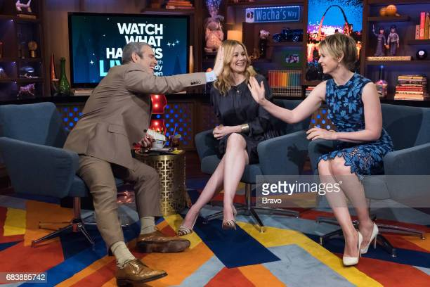 Andy Cohen Laura Linney and Cynthia Nixon