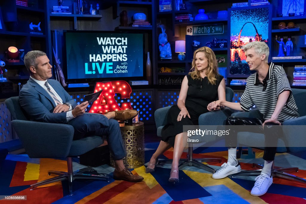 Andy Cohen, Laura Linney and Troye Sivan --