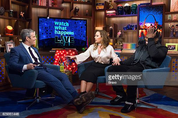 Andy Cohen Leah Remini and 50 Cent