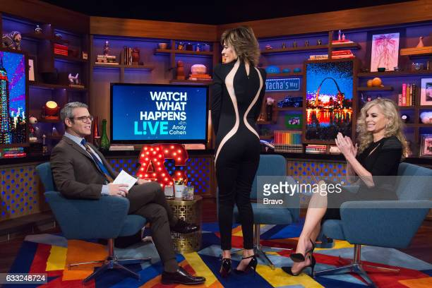 Andy Cohen Lisa Rinna and Eileen Davidson