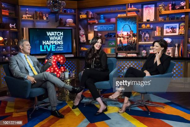 Andy Cohen Liv Tyler and Neve Campbell