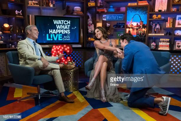 Andy Cohen Luann de Lesseps and Jerry O'Connell