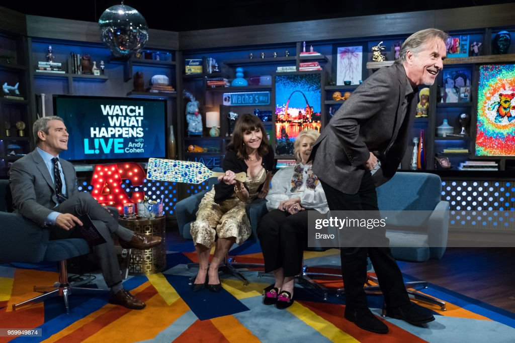 Andy Cohen, Mary Steenburgen, Candice Bergen and Don Johnson --