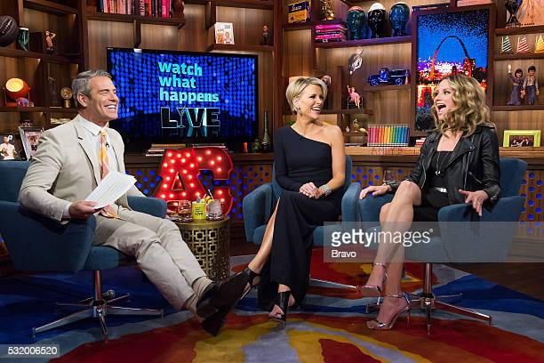Andy Cohen Megyn Kelly and Jennifer Nettles