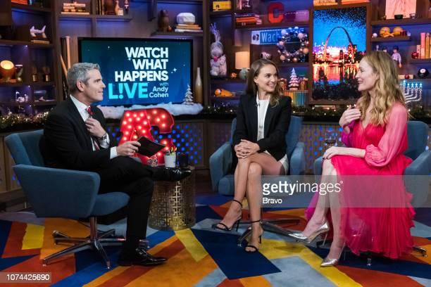 Andy Cohen Natalie Portman Leslie Mann