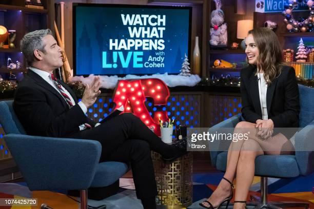 Andy Cohen Natalie Portman