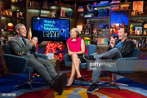 Andy Cohen Nicole Wallace and Patrick Wilson