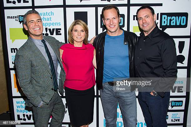 Andy Cohen Nicole Wallace Patrick Wilson and Dave Ansel