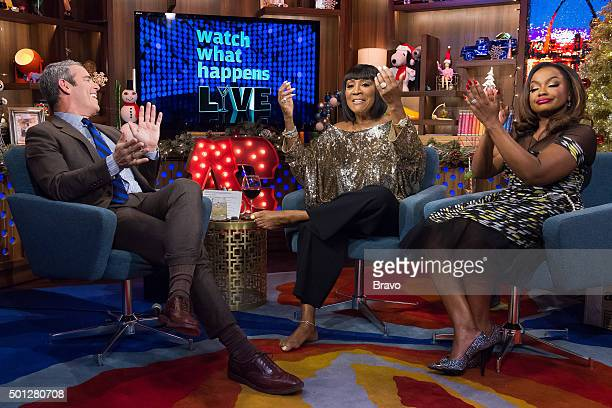 Andy Cohen Patti LaBelle and Phaedra Parks