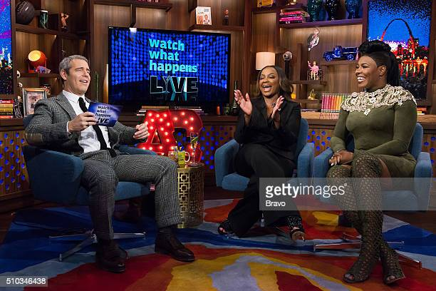 Andy Cohen Phaedra Parks and Ta'Rhonda Jones