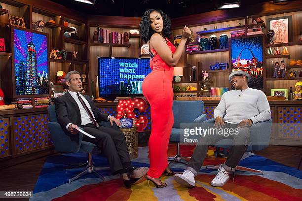Andy Cohen Porsha Williams and Ja Rule