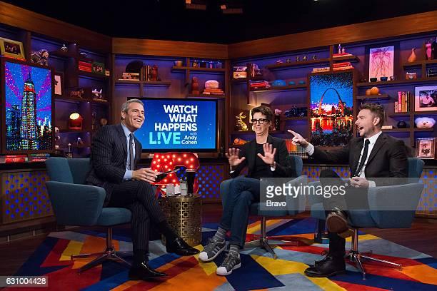Andy Cohen Rachel Maddow and Chris Hardwick